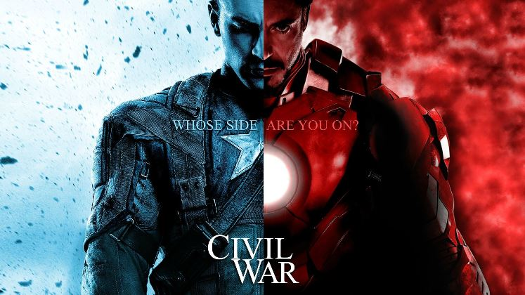 Civil War Captain America Da che parte stai?
