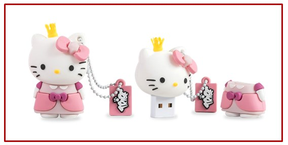 hello kitty chiavette usb