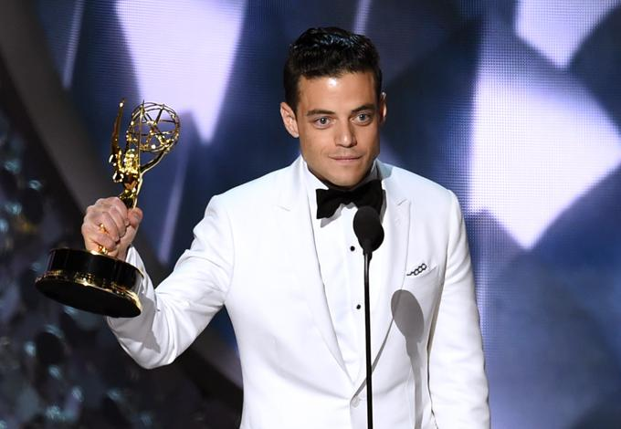 emmy 68 Rami Malek Mr. Robot
