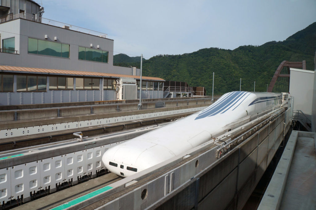 magnetic levitation trains Japan
