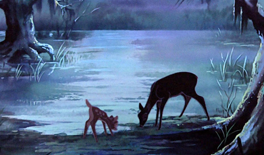Bambi-in-the-rescuers