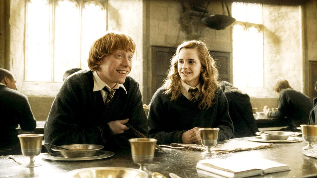 Harry Potter - Ron ed Hermione